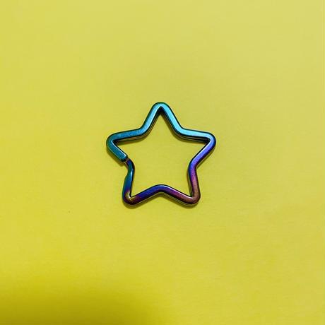 星 キーリング STAR KEYRING