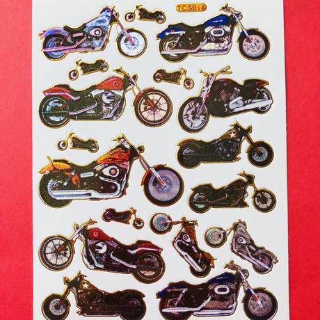 バイク キラキラ シール MOTORCYCLE  STICKER