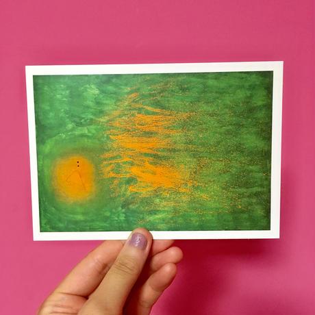 ポストカード アート スペイン ①  POSTCARD ART SPAIN