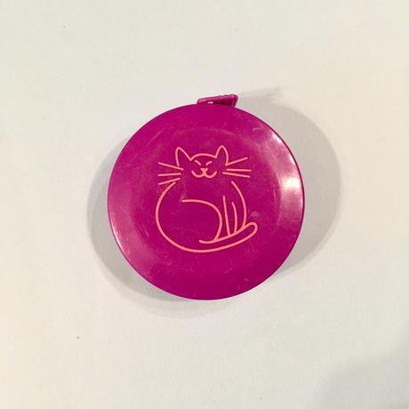 ねこ 猫 メジャー 紫 CAT TAPE MEASURE PURPLE
