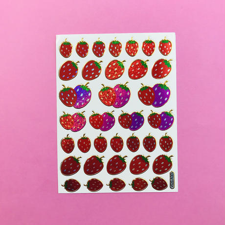イチゴ いちご シール STRAWBERRY STICKER