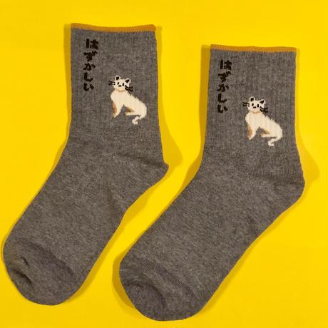 靴下 はずかしい ねこ 猫 CAT SOCKS