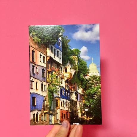 ポストカード オーストリア ウィーン ②  POSTCARD AUSTRIA