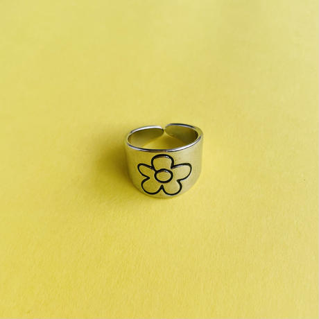 花 シルバーリング FLOWER SILVER RING