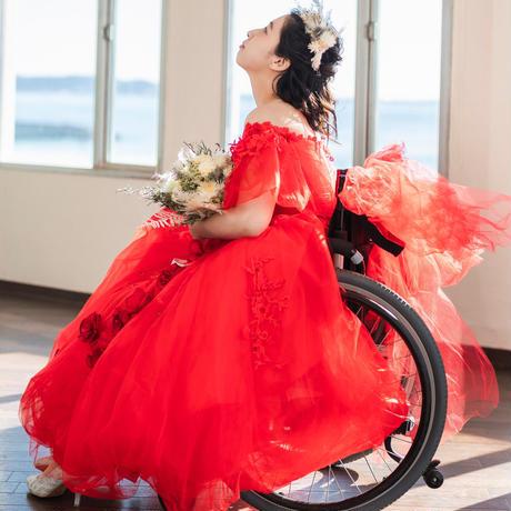 Redminirose 車椅子ドレス