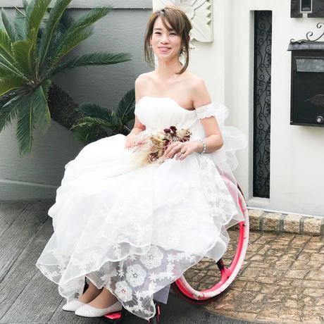 BOHEMIAN 車椅子ドレスレンタル おうちでフォトサービス