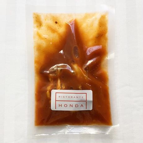 <ソース>渡り蟹のトマト(3食)