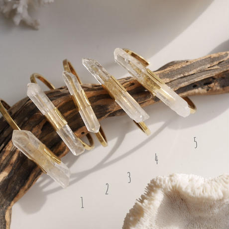 Crystal sword bangle