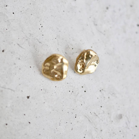Flow earrings -gold-