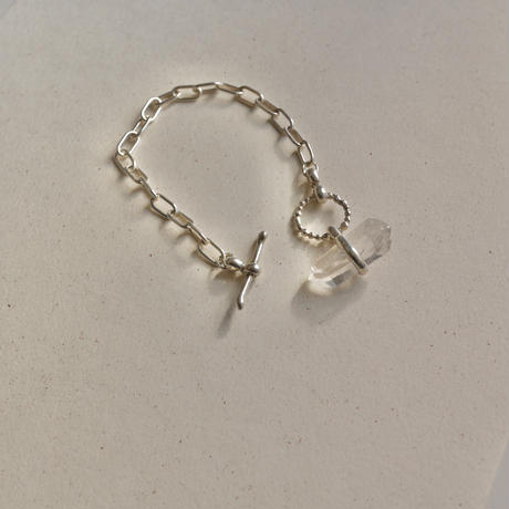 Chain bracelet -crystal sword