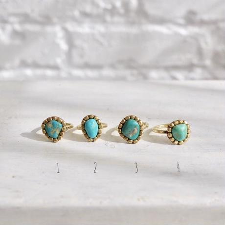 Gemstone ring「Turquoise」