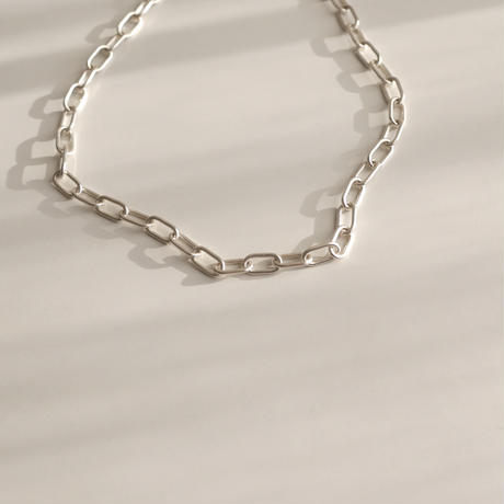 Chain necklace -crystal sword
