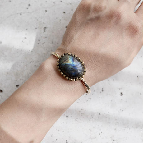 Labradorite bangle
