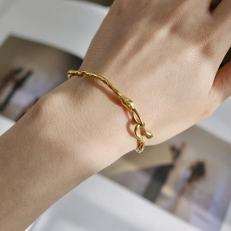 925 rough bracelet