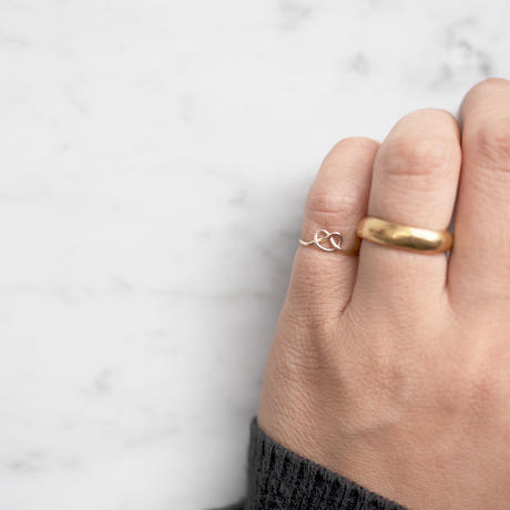 Brass simple ring