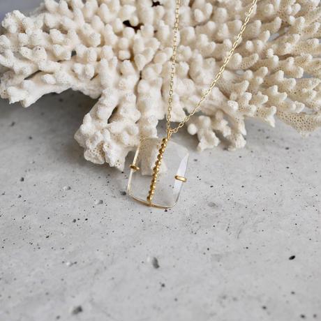 Crystal dot necklace