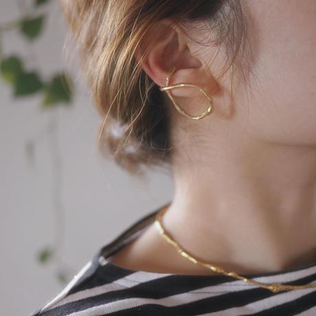 925 twist ear cuff