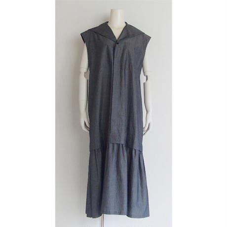 FABRICA cotton sailor collar dress