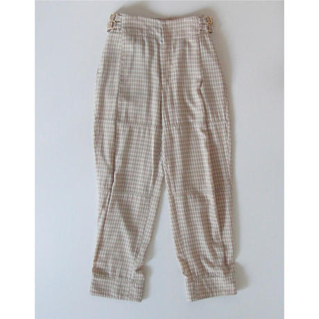 check long zouave pants