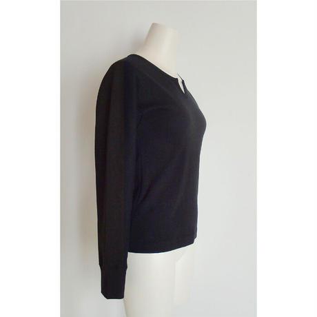 slit neck kimono raglan fit T