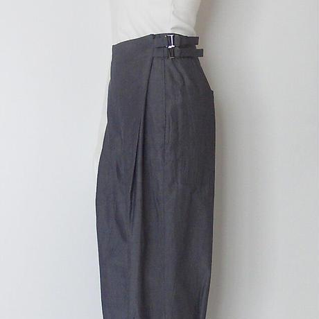 FABRICA cotton long zouave pants