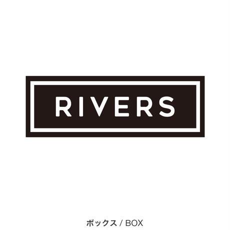 ステッカー リバーズ  (L/ボックス)       Sticker RIVER (L)