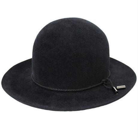 "KIJIMA TAKAYUKI(キジマ タカユキ)""RABBIT FUR FELT BOWLER HAT[No.162817]"""