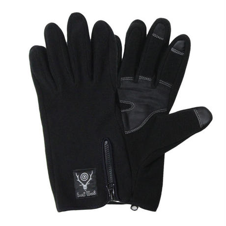 """South2 West8(サウスツーウエストエイト)""""Zipped Glove - Polartec / Classic Fleece"""""""