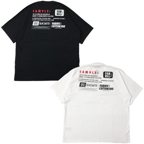 """DAIRIKU(ダイリク)""""Taping Half-sleeve T-Shirt"""""""