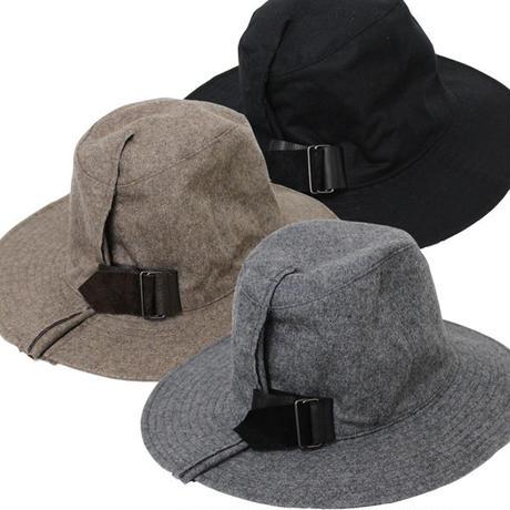 """KIJIMA TAKAYUKI(キジマ タカユキ)""""LEATHER BELT BRIM HAT[No.162822]"""""""