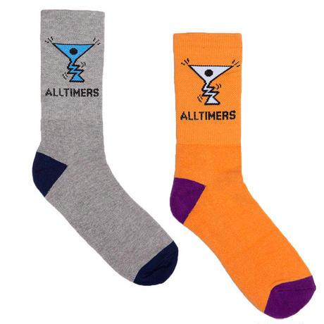 """ALLTIMERS(オールタイマーズ)""""Action Logo Socks"""""""