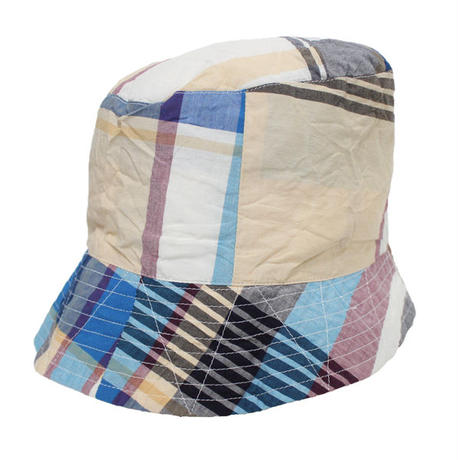 "ENGINEERED GARMENTS(エンジニアード ガーメンツ)""Bucket Hat/Solid - Big Madras Plaid"""