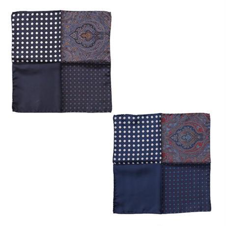 "ENGINEERED GARMENTS(エンジニアード ガーメンツ)""Four Patterns Pocket Square"""
