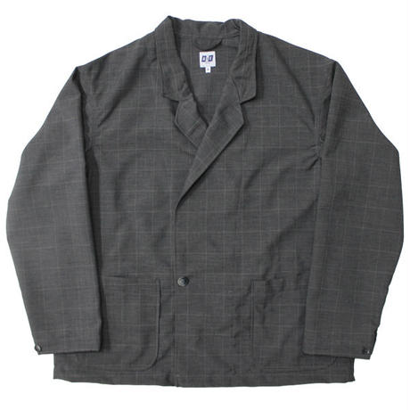 "AiE(エーアイイー)""EZ Jacket - Polyester Windowpane"""