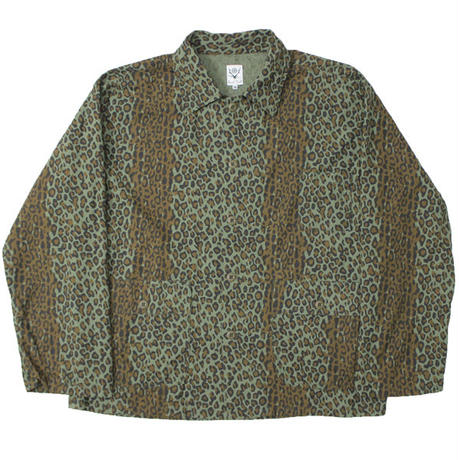 """South2 West8 (サウスツーウエストエイト)""""Hunting Shirt - Printed Flannel / Camouflage"""""""