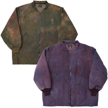 "NEEDLES(ニードルス)""Stand Collar Down Sur Coat - Nylon Tussore / Uneven Dye"""