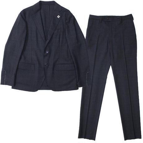 "LARDINI(ラルディーニ)""Stretch Wool GlenCheck 3B Packable Suit [EASY WEAR]"""