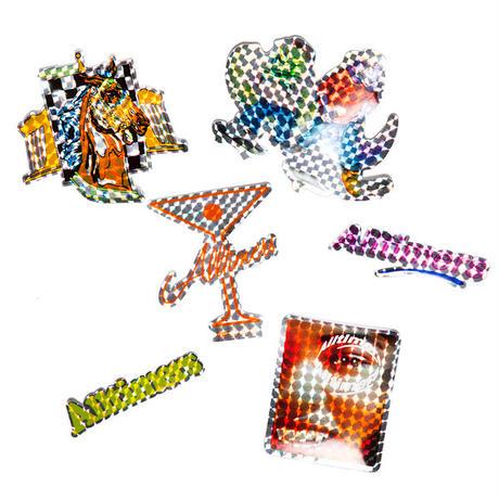 "ALLTIMERS(オールタイマーズ)""Futuristic Shine Prism Sticker Pack"""