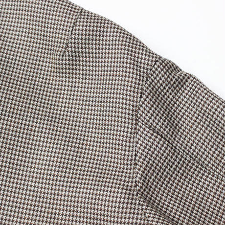 "AURALEE(オーラリー)""DOUBLE FACE CHECK ZIP BLOUSON"""