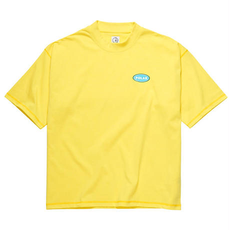 "POLAR SKATE CO.(ポーラー スケート カンパニー)""Station Logo Surf Tee"""
