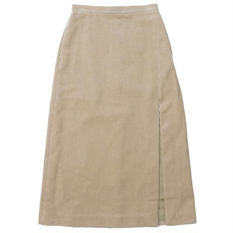 "Ladies' /AURALEE(レディース オーラリー)""WASHED CORDUROY SLIT SKIRT"""
