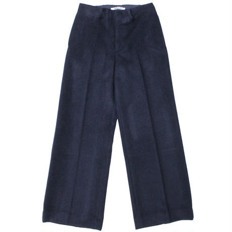 "Ladies' AURALEE(レディース オーラリー)""BABY ALPACA WIDE SLACKS"""
