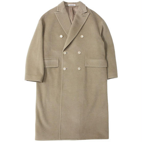 "Ladies' /AURALEE(レディース オーラリー)""CASHMERE WOOL MOSSER DOUBLE-BREASTED COAT"""