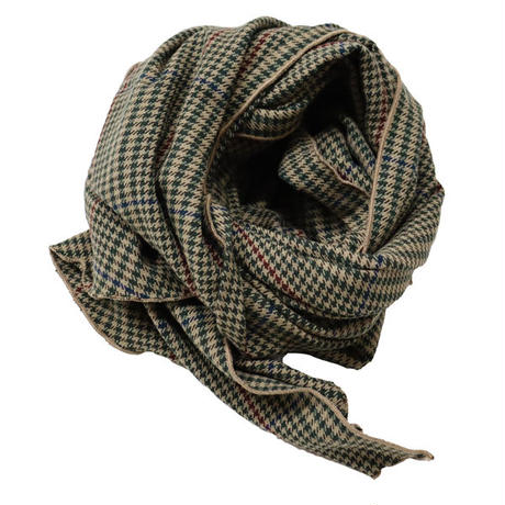 "Engineered Garments(エンジニアード ガーメンツ)""Long Scarf - Gunclub Check"""