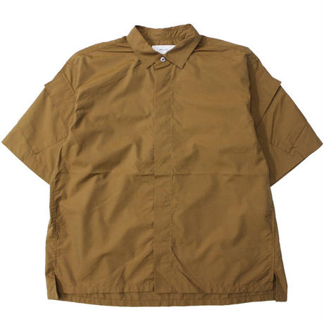 "WELLDER(ウェルダー)""Flap Pocket Short-Sleeve Shirt"""
