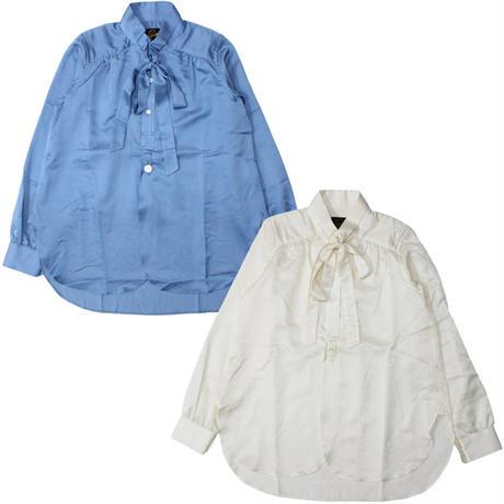 "Ladies' /NEEDLES WOMAN(ニードルス ウーマン)""Ascot Collar EDW Gather Shirt - C/S Sateen"""