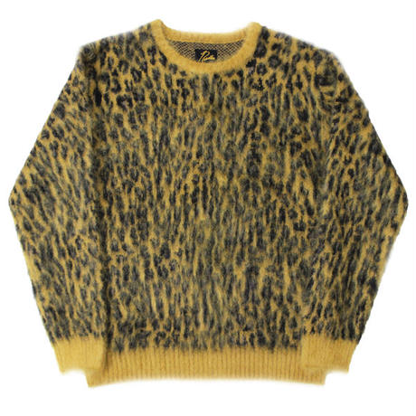 "NEEDLES(ニードルス)""Mohair Sweater - Leopard"""