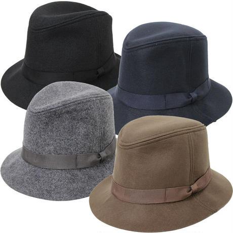 "KIJIMA TAKAYUKI(キジマ タカユキ)""MIDDLE BRIM FELT RIBON HAT[No.162824]"""