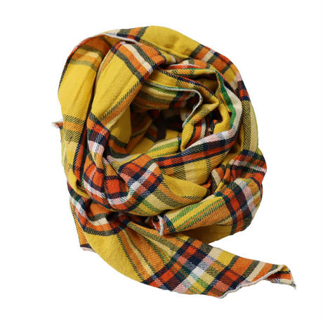 "Engineered Garments(エンジニアード ガーメンツ)""Long Scarf - Twill Plaid"""