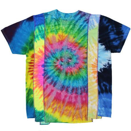 "REBUILD BY NEEDLES(リビルドバイニードルス)""5 Cuts Tee - Tie Dye / Spiral"""